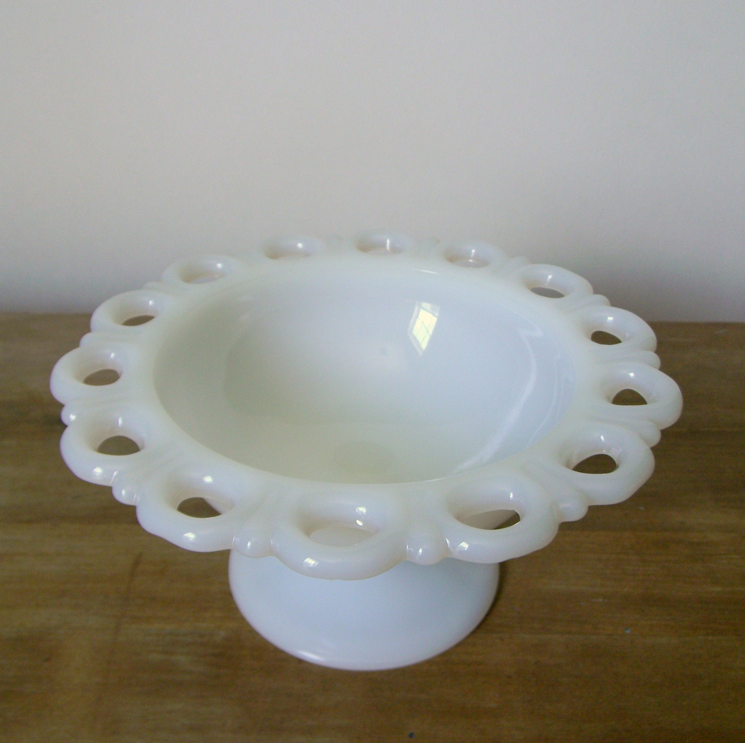 Vintage Lace-edged candy dish