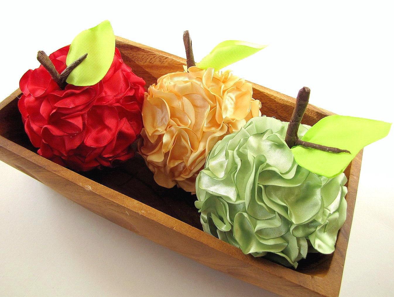 NEW-ручной работы домой декоративные аксессуары - зеленых яблок