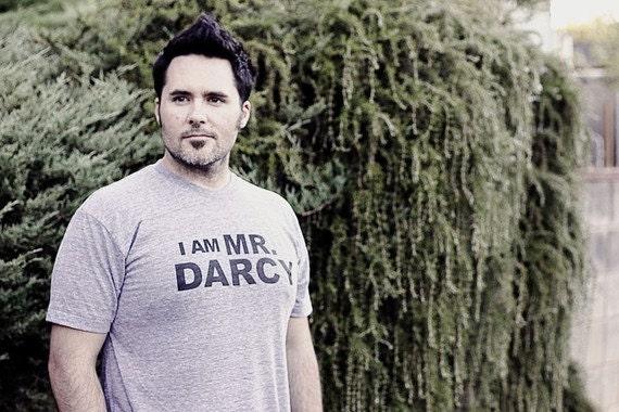 Misprint SALE-  I Am Mr. Darcy shirt-  L, XL, 2XL