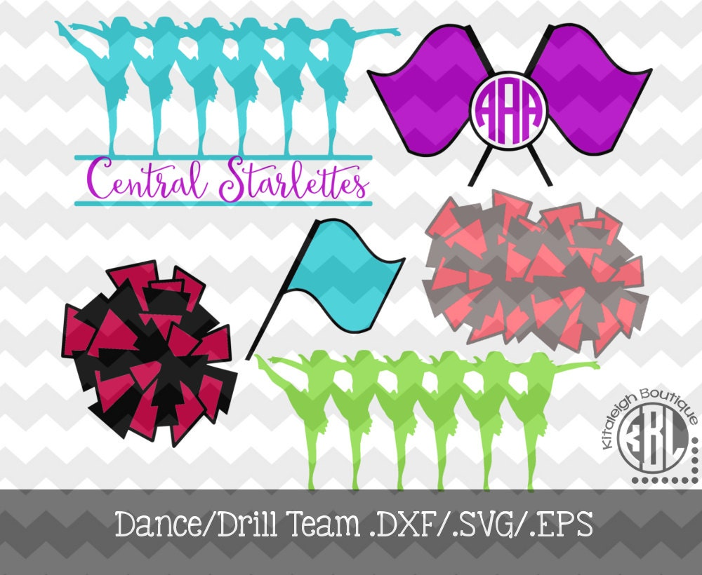 674 dance drill team clipart  Public domain vectors