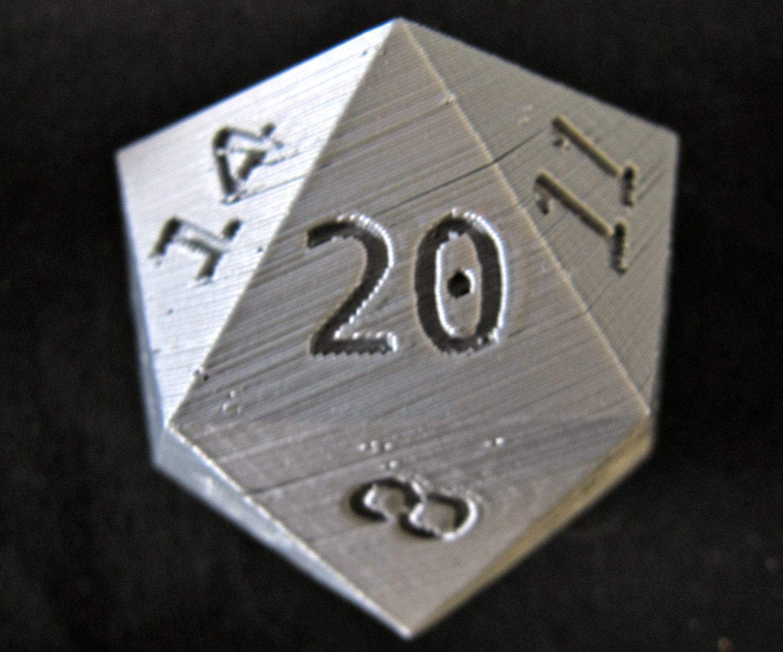 custom 20 sided dice