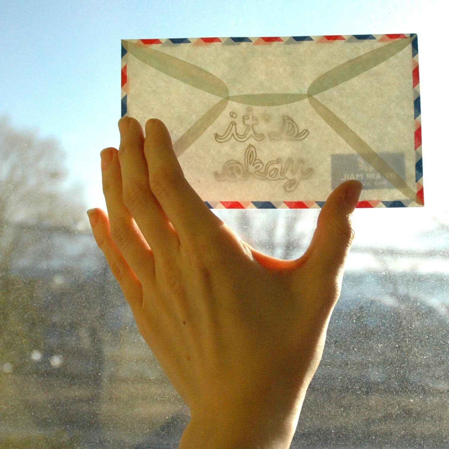 secret message envelope - it's okay