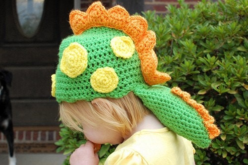Crochet Dragon Hat