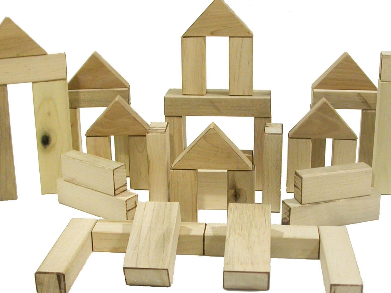Wood Building Blocks ~ Wooden blocks deals on