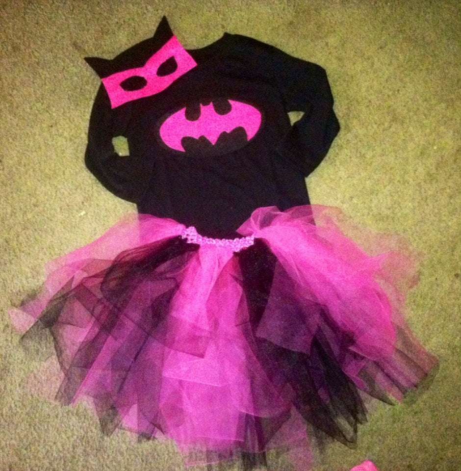 how to make a pink batgirl costume
