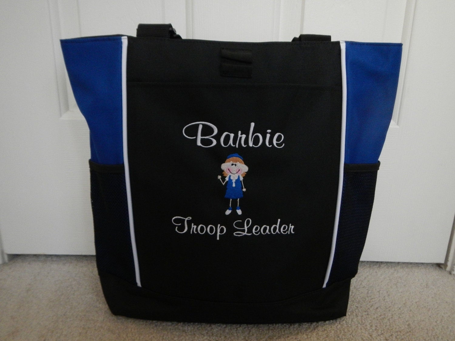 Tote Bag Personalized Girl Scouts Daisy Brownie Troop Leader Team Mom ...