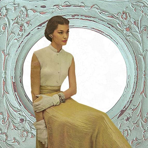 Vogue Vintage Knitting Patterns : 1940s Instant Download Vintage Pattern Evening Knit by DontSassMe