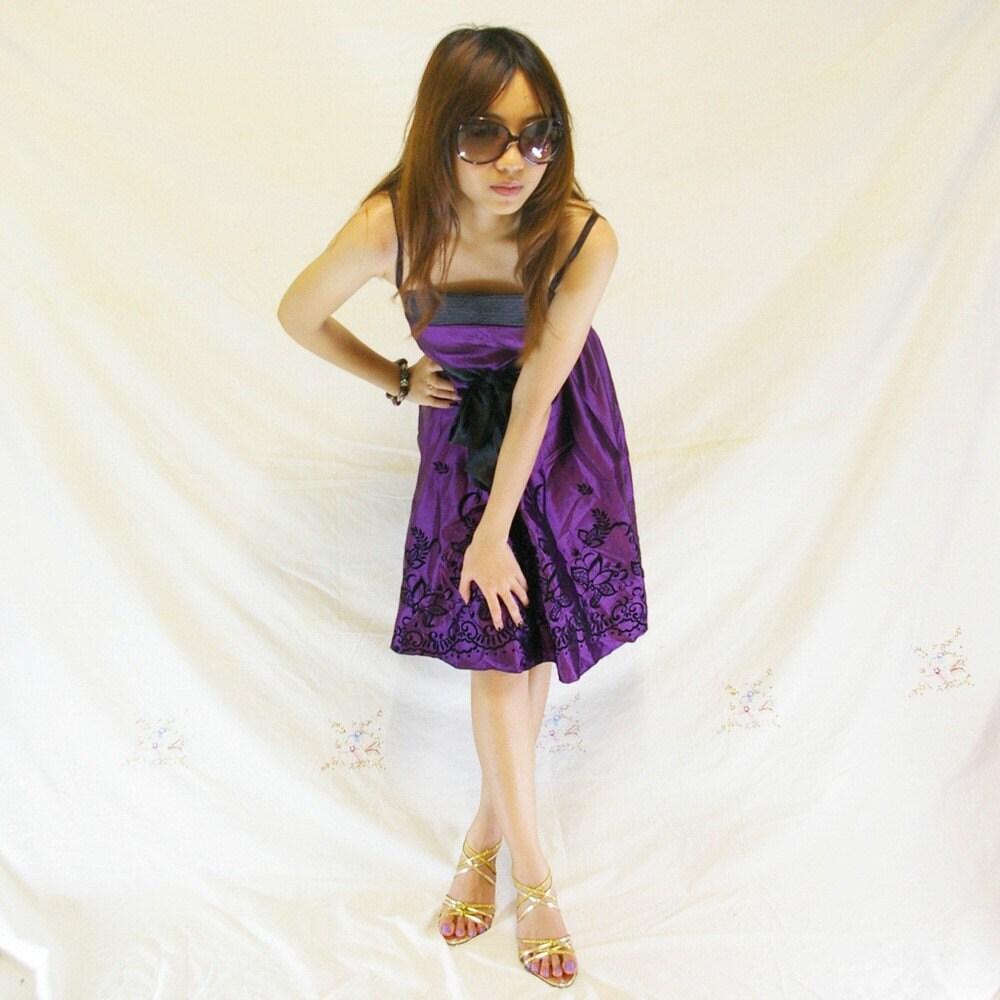 Purple Sundresses For Weddings