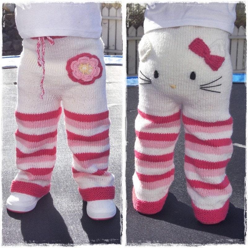 Knitting pattern - Kitty pants