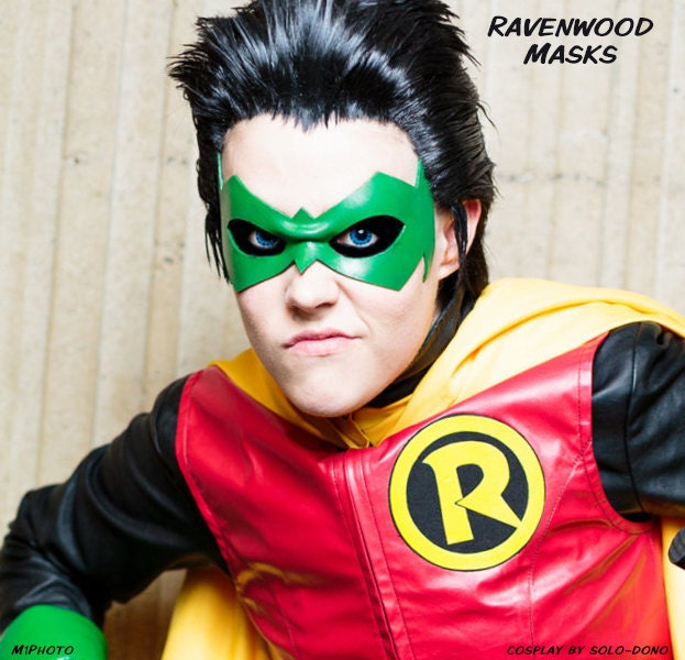 nightwing damian wayne cosplay - photo #2