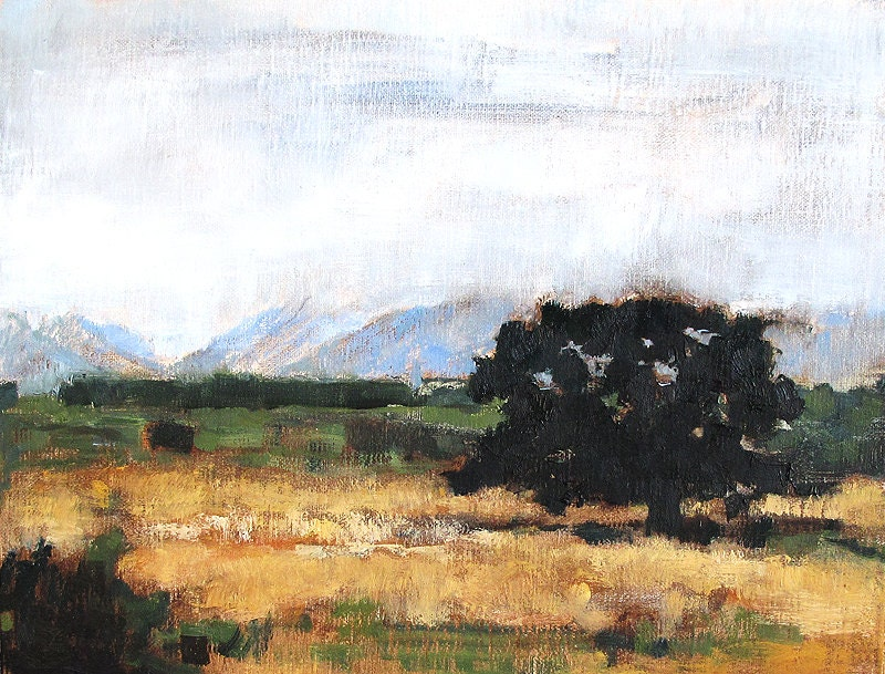 Santa Barbara California Landscape Painting