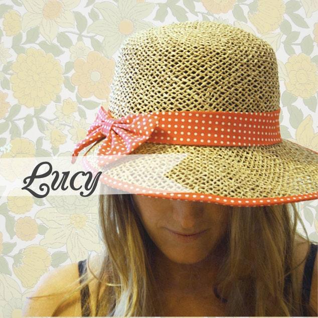 Lucy // Vintage Summer Hat