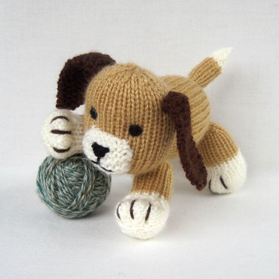 Knitting Patterns Dog Breeds : Free Crochet Pattern For Dog Toy Crochet And Knitting Patterns Dog Breeds P...
