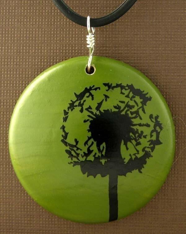 Wish...Maple Wood Pendant...I am a KIVA loaner
