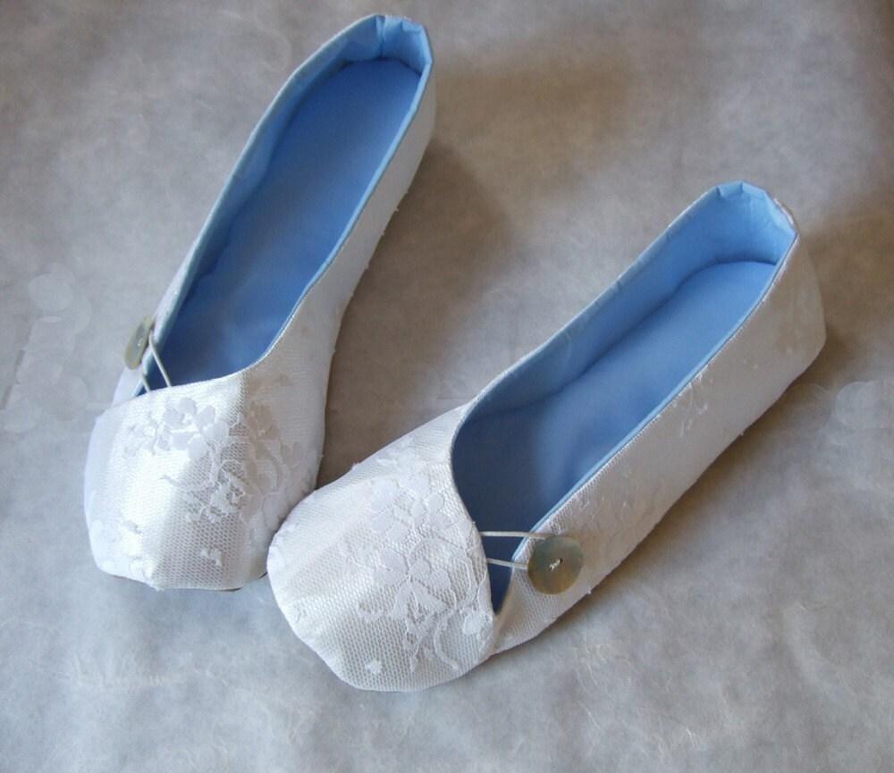 Custom Bridal Flats