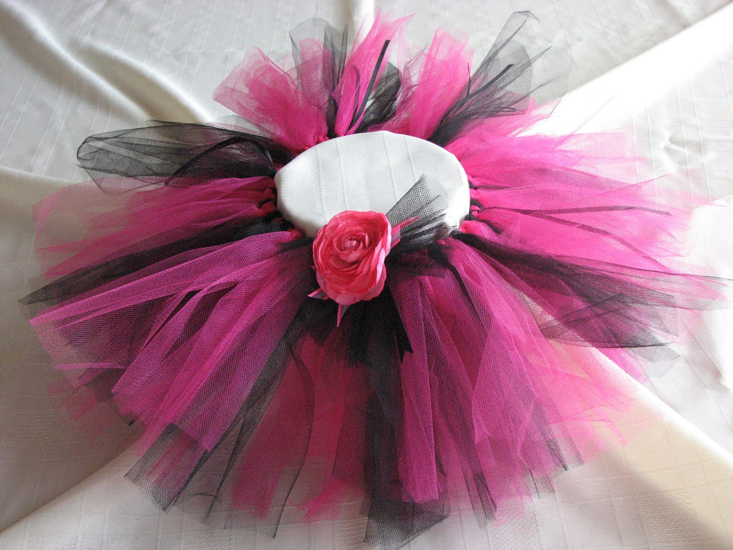 Party Girl Tutu in Pink and Black