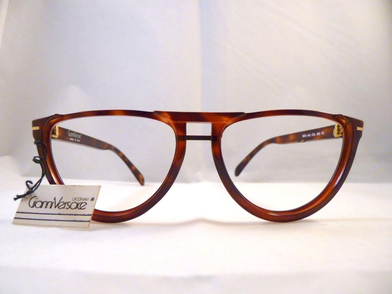 Aviator Eyeglasses Frame : Gianni Versace design eyeglasses aviator frames by ...