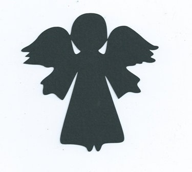 Little Angel Silhouette Set Of 6 By Hilemanhouse On Etsy