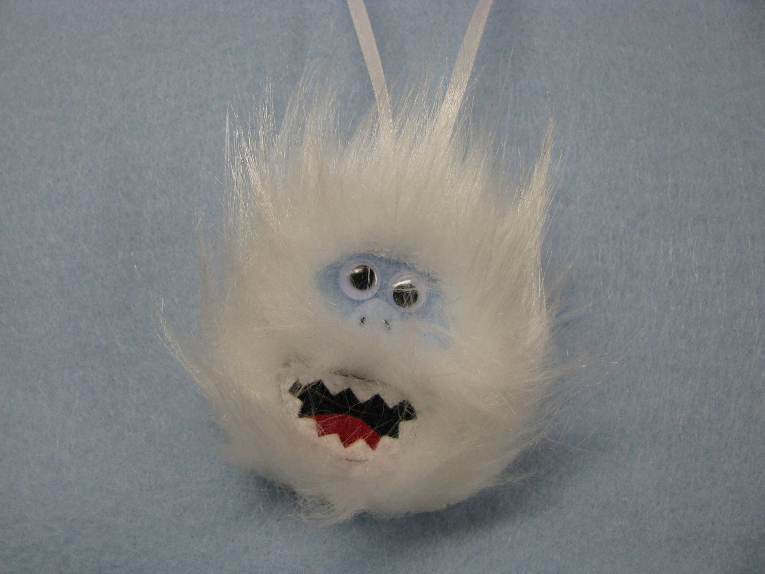 Bumble the abominable snowman christmas tree by for Abominable snowman holiday decoration