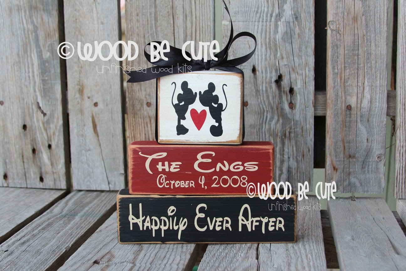 Wedding Gift Personalized Home Decor Birthday Sign Anniversary Disney