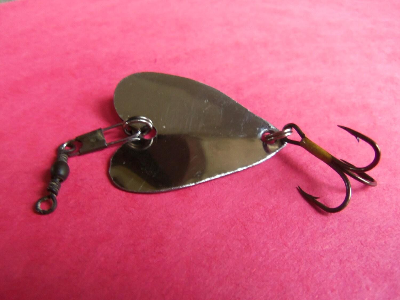 Valentines Day Handmade Custom Metal Heart Fishing Lure