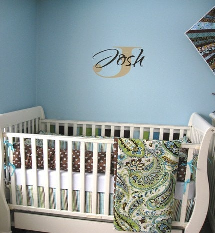 Items similar to Design Your Own Baby Bedding on Etsy