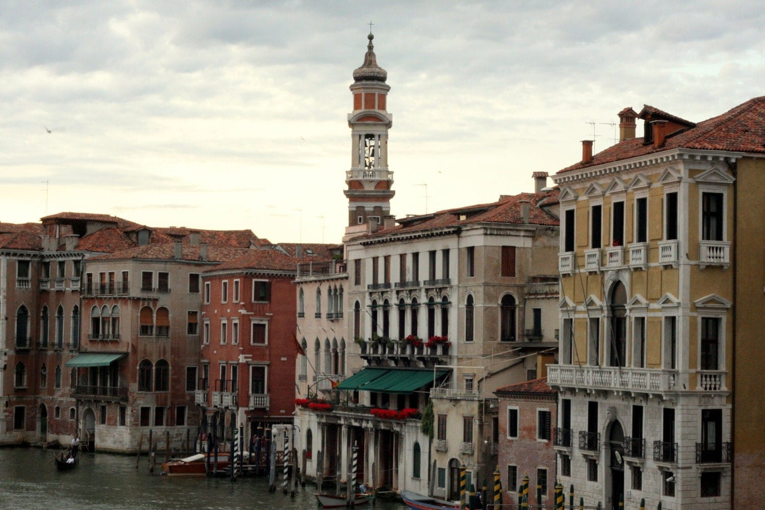 Venice, Italy Spire - 8x10 Print Matted to 11x14