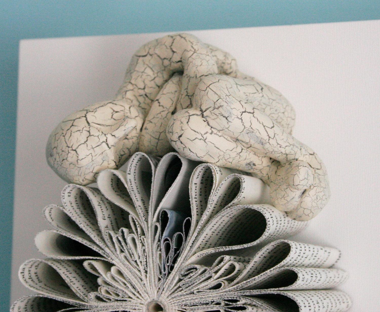 Спящий на Падение Цветок (Оригинальные скульптуры)