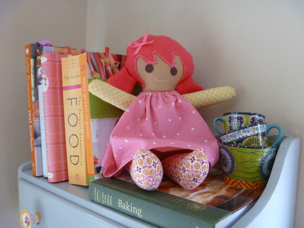 Rosie Rag Doll- Pink