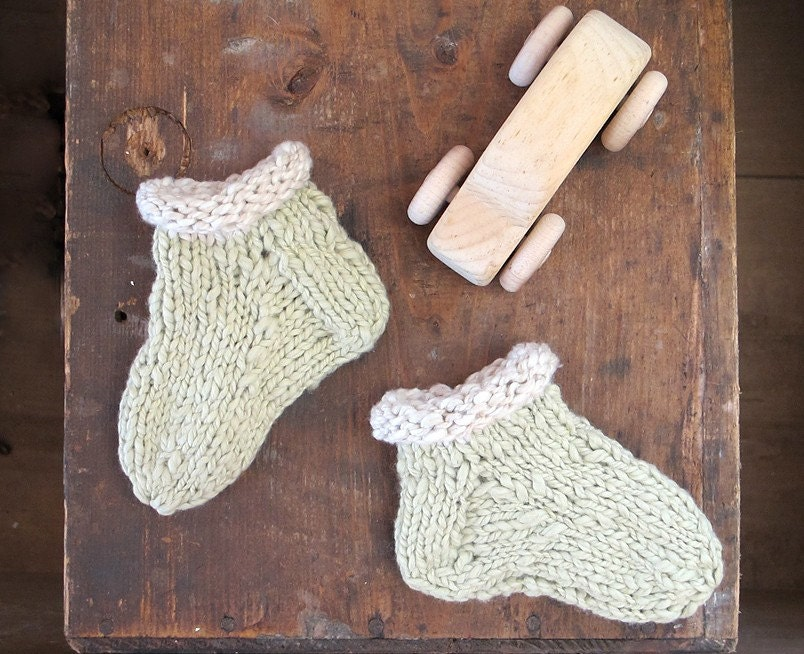 Organic Baby Cotton Socks