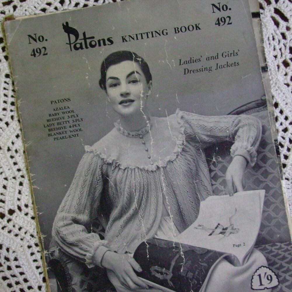 Knitting Pattern For A Bed Jacket : SHOULDERETTE BED JACKET KNITTING PATTERNS FREE PATTERNS
