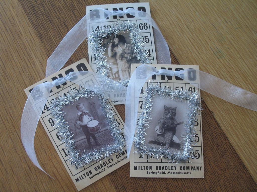 Bingo Christmas Cards/Tags/Ornaments