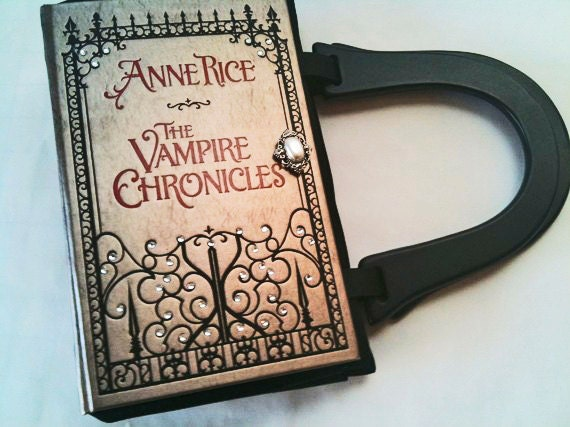 Anne Rice Vampire Chronicles Book Purse - CHOOSE YOUR HANDLE