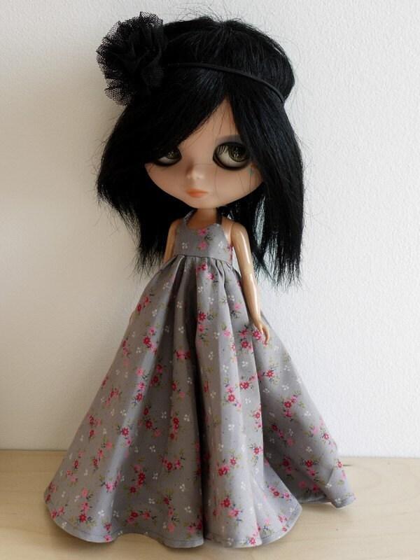 Custom made hippie dress