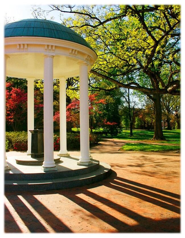 Unc Chapel Hill Old Well North Carolina By Orangecatart On Etsy