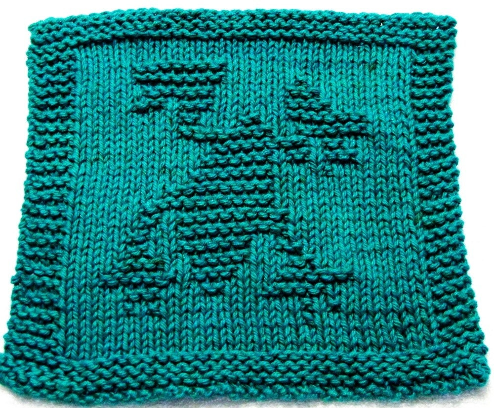 Knitting Cloth Pattern FROG PDF Instant Download by ezcareknits