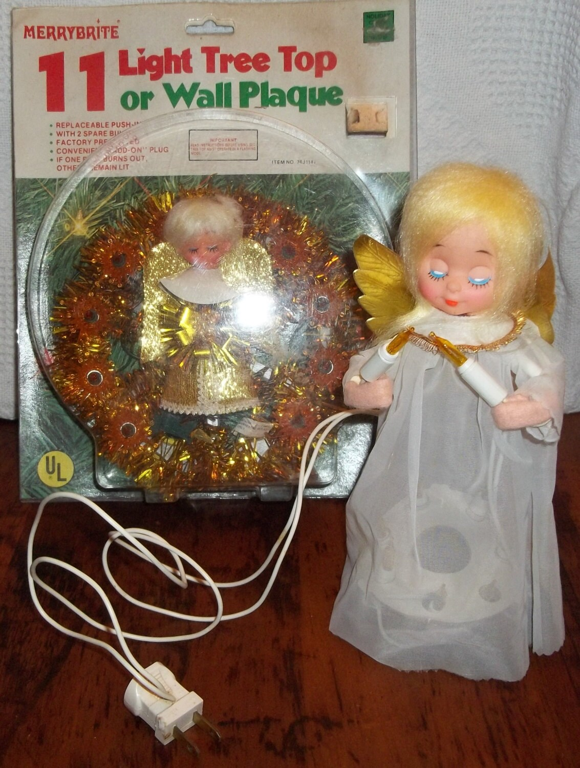 Items Similar To Vintage Christmas Decorations 1950s