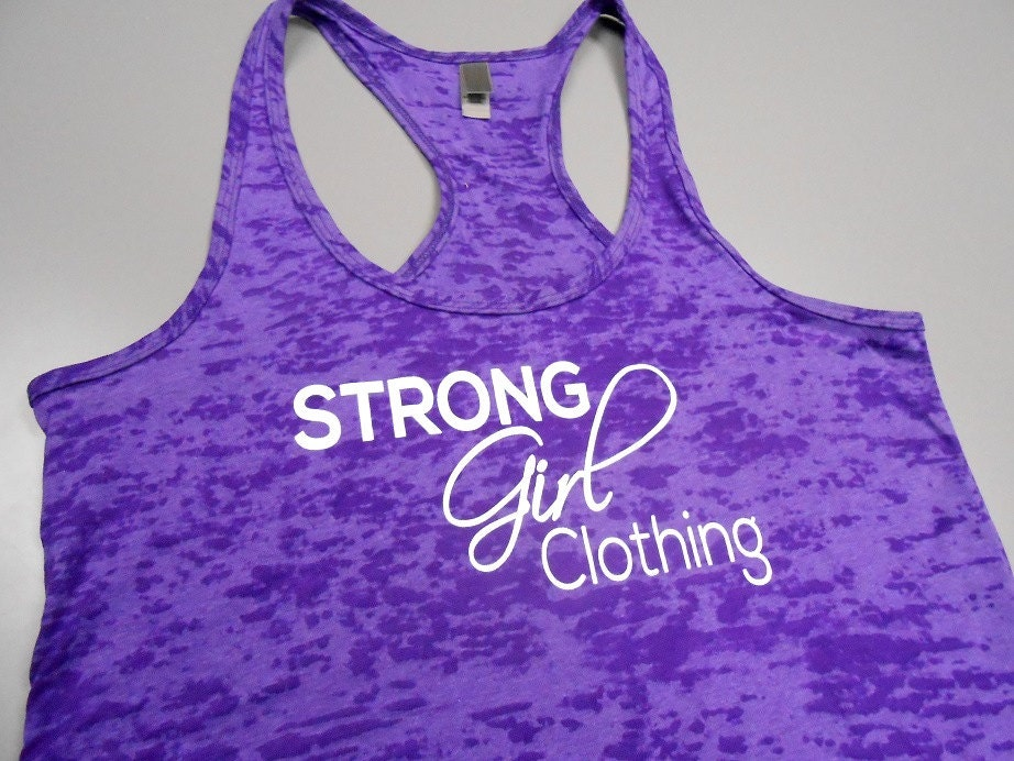 Strong Girl Clothing Signature Tank Top Womens Workout #2: il 340x270 djv6