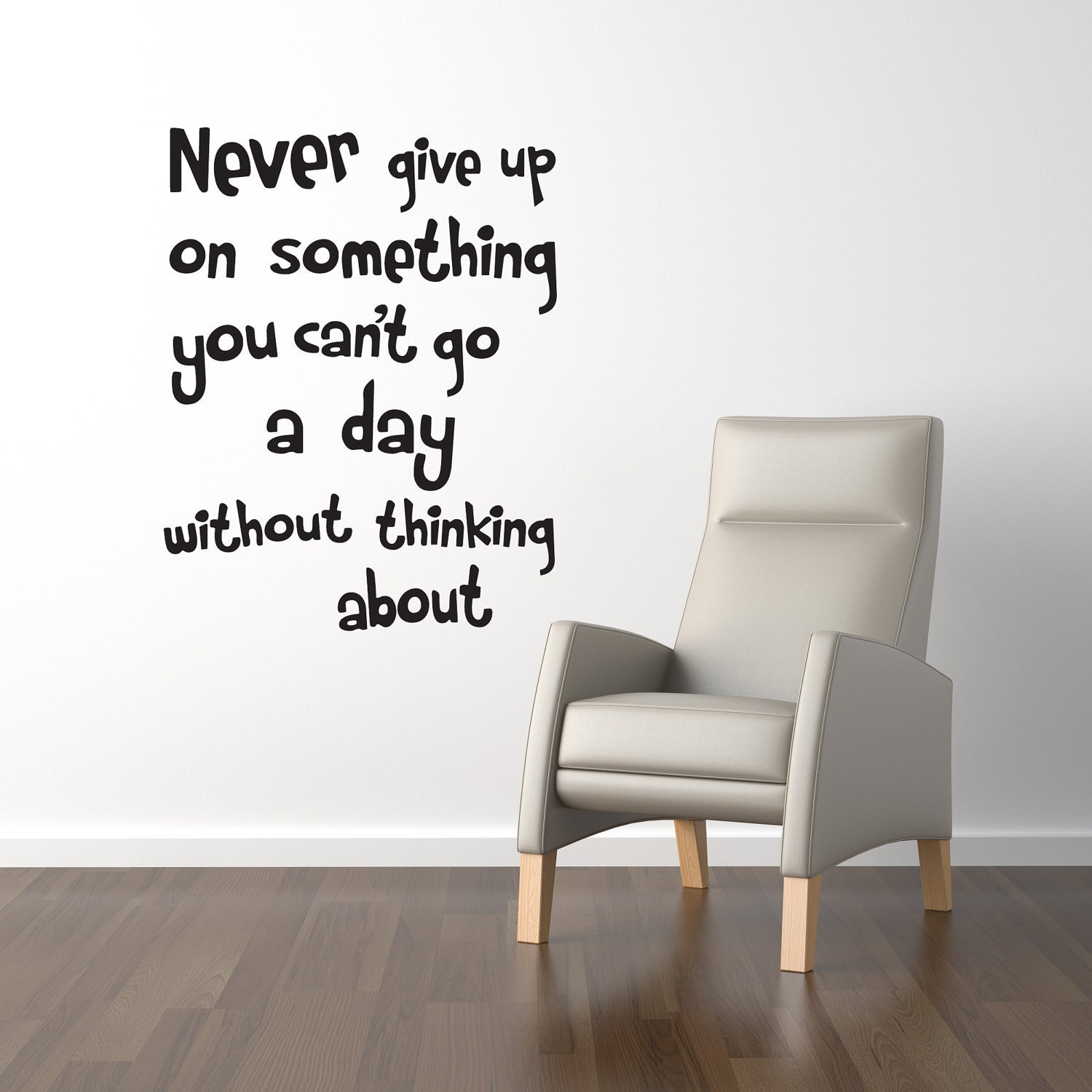 wall quote decal never give up wall words stickers by world map world atlas wall stickers wall art decal