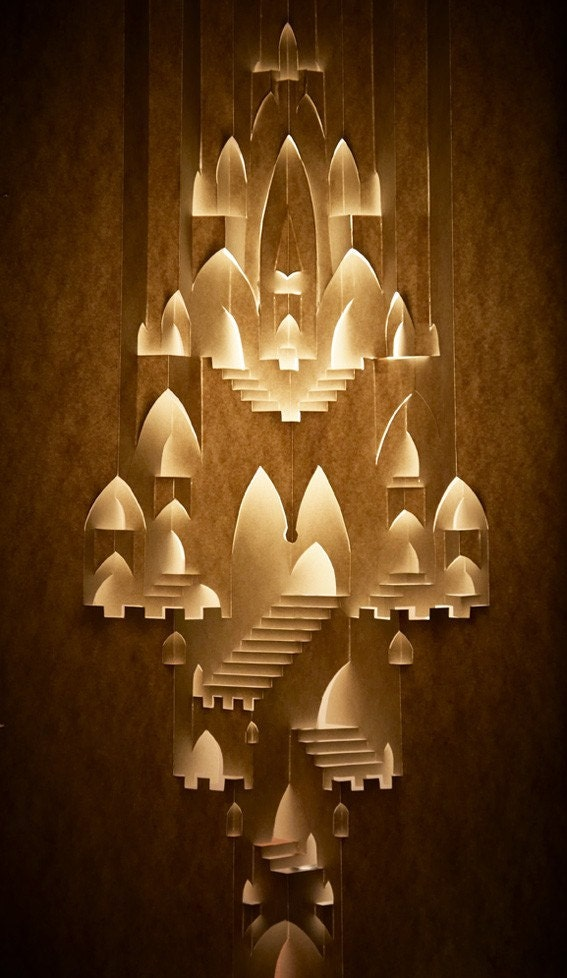 Desigrans ideas wondercastle from paper home decor for Home decorations with paper