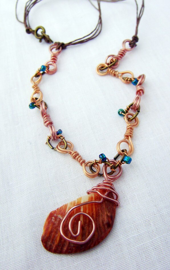 Ocean Sunset Necklace 30% off!!