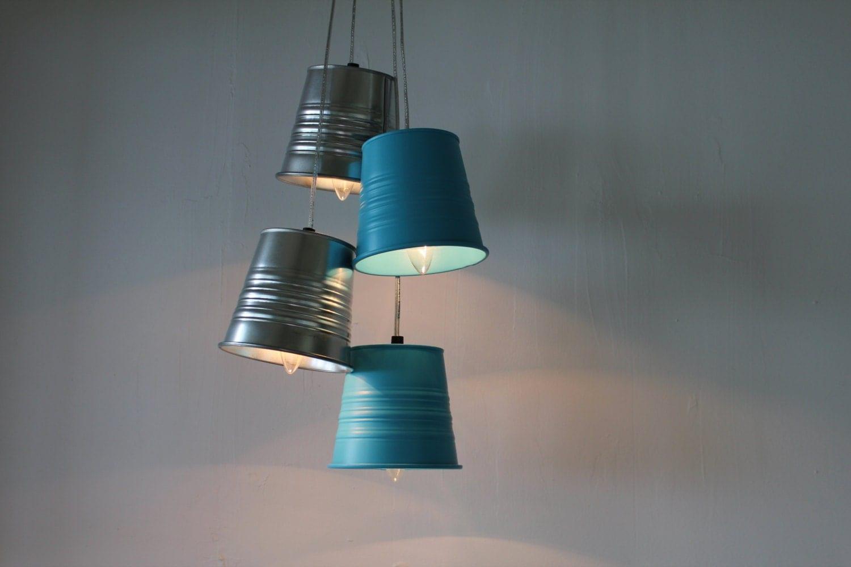 garden plant pot chandelier upcycled hanging pendants chandelier. Black Bedroom Furniture Sets. Home Design Ideas