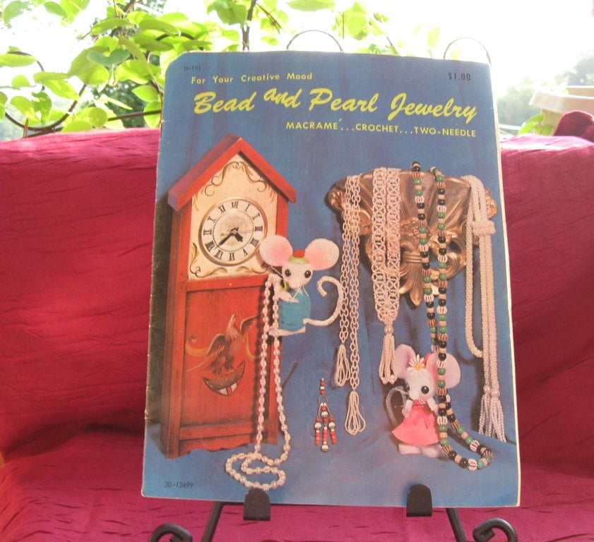 Bead and Pearl Jewelry - Macrame - Crochet - Two Needle