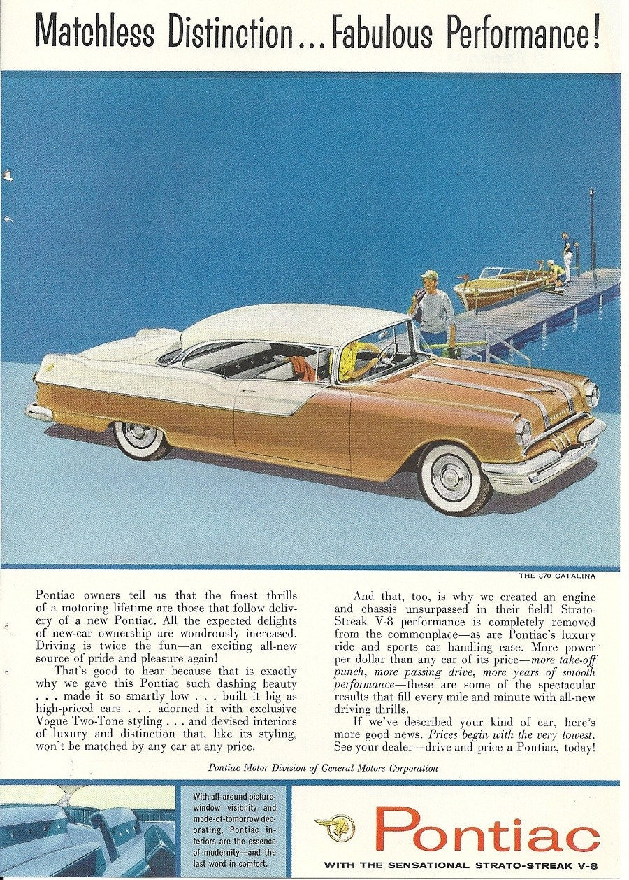 Buick Ads From 1955 & 1962