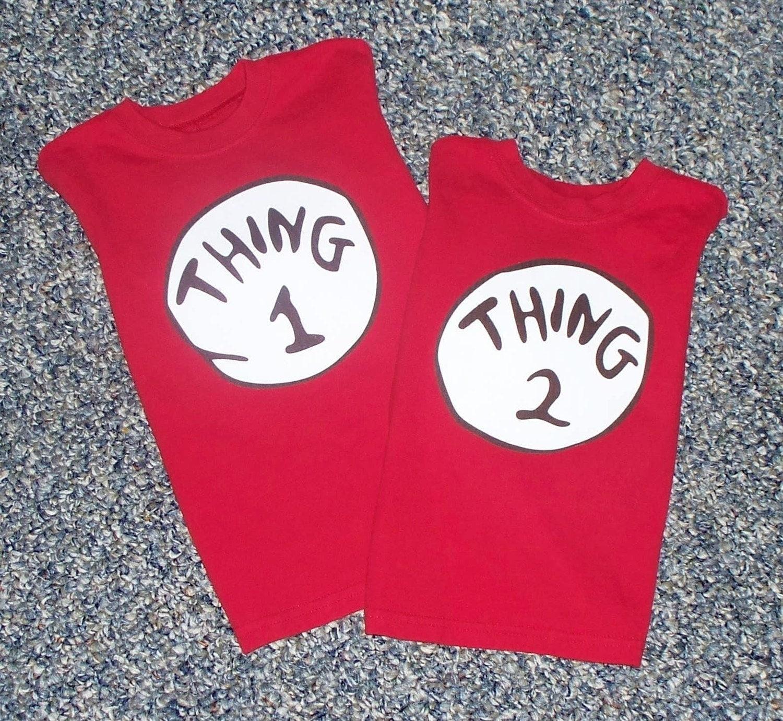 Thing 1 and Thing 2 Shirts