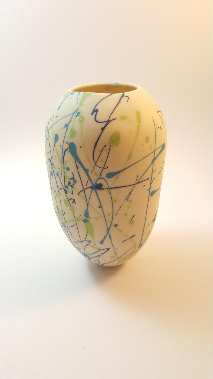 Hand crafted porcelain vase parian vase gift for hergift for him contemporary vase bud vase birthday gift for her birthday gift