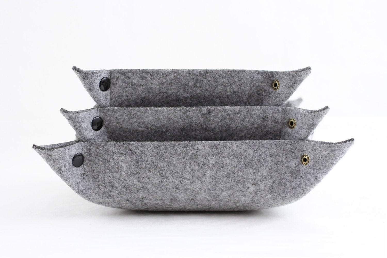 Wool Felt  Office Desktop Organizer Set - Oliday