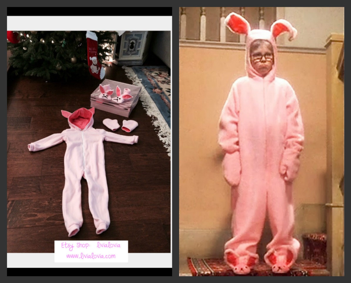 a christmas story pink bunny costume a christmas story pink