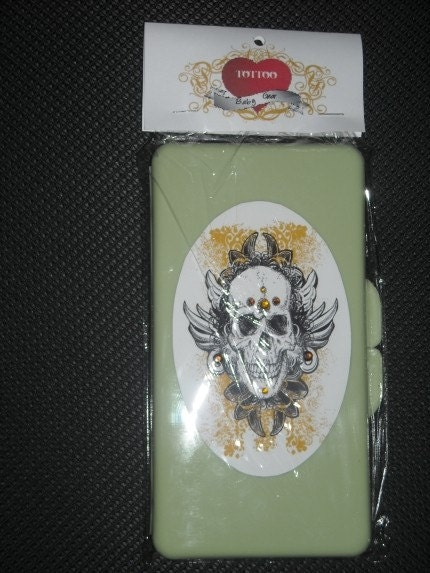 Tattooed Baby Wipes Case.