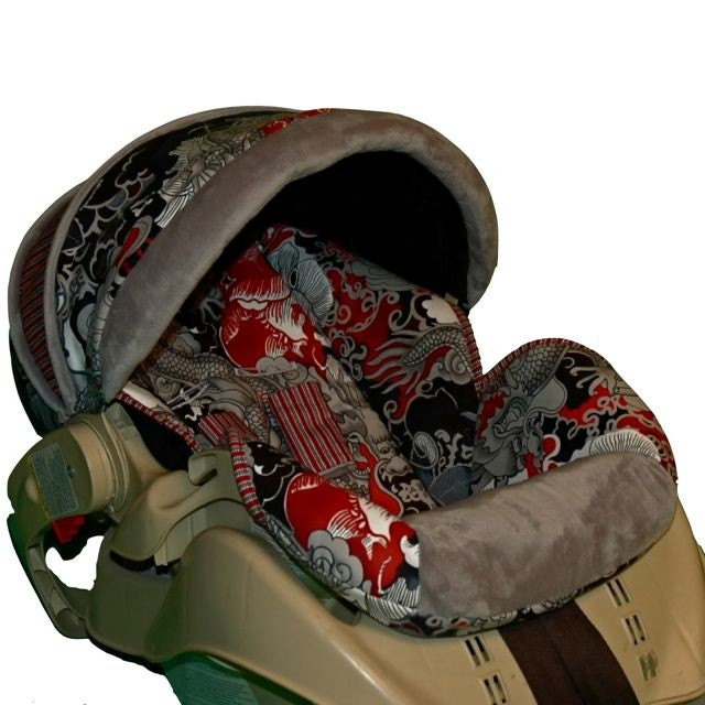 Custom Replacement Infant Car Seat Cover Tatsu By Bbsprouts